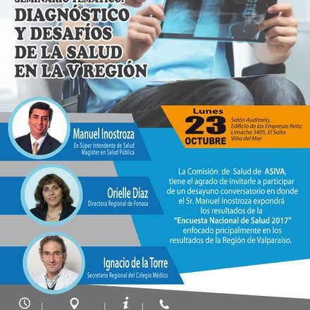 Diagnóstico y Desafíos de la Salud en la V Región