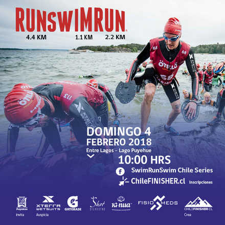 RUN SWIM RUN PUYEHUE