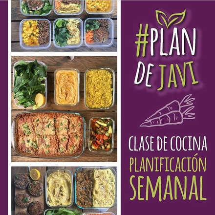 #plandejavi Enero: Clase intensiva de Cocina para la Planificación Semanal