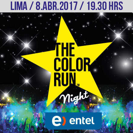The Color Run Night Lima 2017