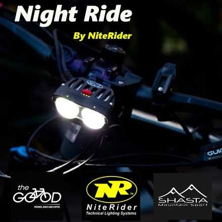 Pedaleo Nocturno by The Good Bike & NiteRider Mayo
