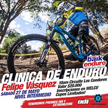 Montenbaik Enduro con Felipe Vasquez - Circuito Los Condores
