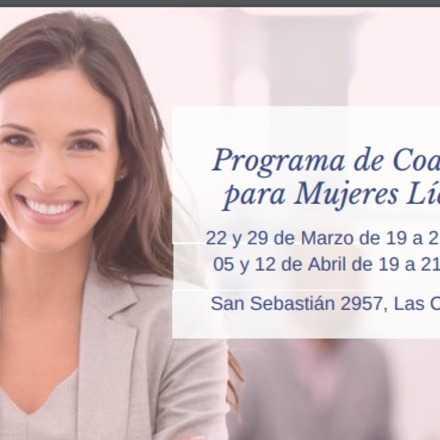 Programa de Coaching para Mujeres Líderes