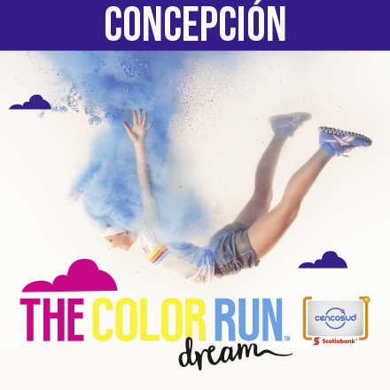 The Color Run Concepción - Tarjeta Scotiabank Cencosud 2017