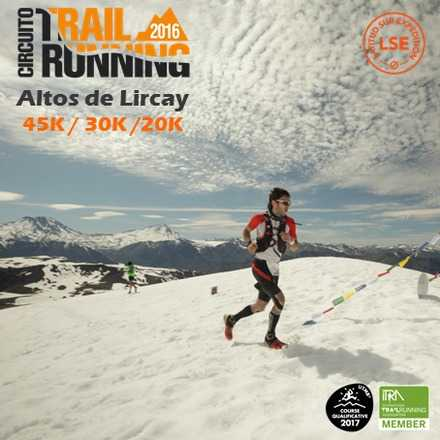Trail Running Altos de Lircay 2016