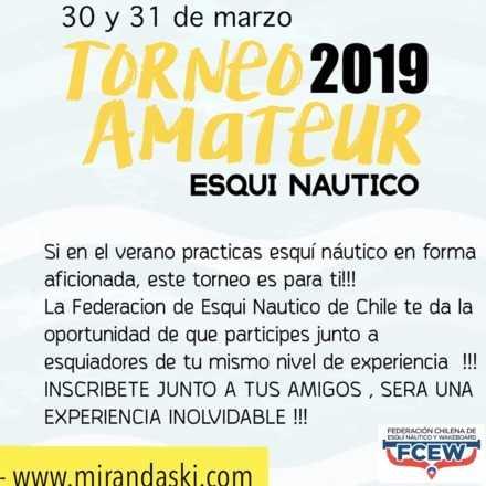 Nacional Amateur Esqui Nautico 2019