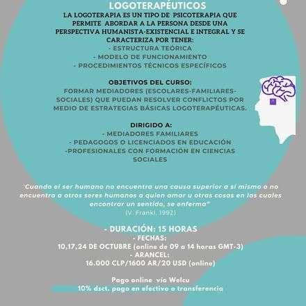 Curso formación mediadores/orientadores logoterapéuticos