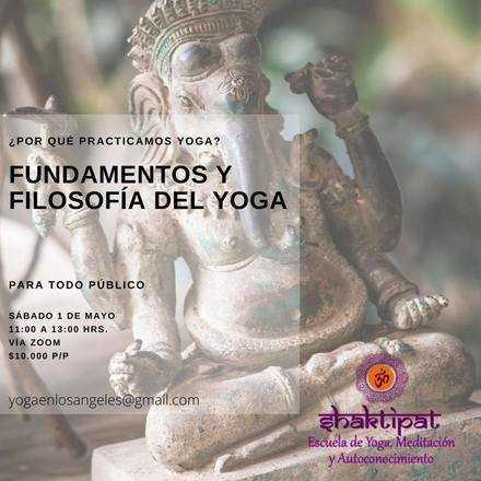 Fundamentos y Filosofía del Yoga
