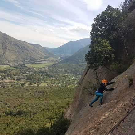 Curso Iniciación a la Escalada en Roca Malku  - Noviembre 2018