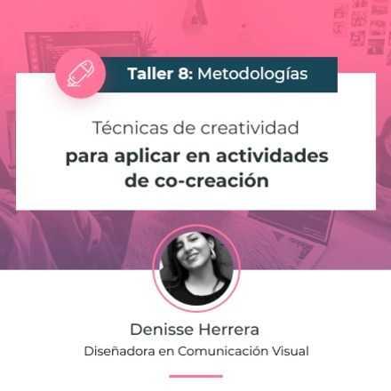 Técnicas de creatividad para aplicar en actividades de co-creación
