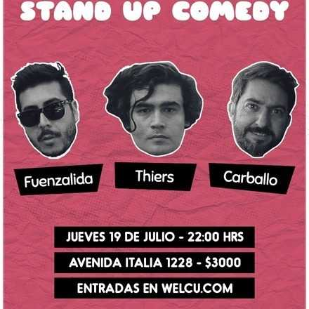 Stand up - Thiers + Carballo + Fuenzalida