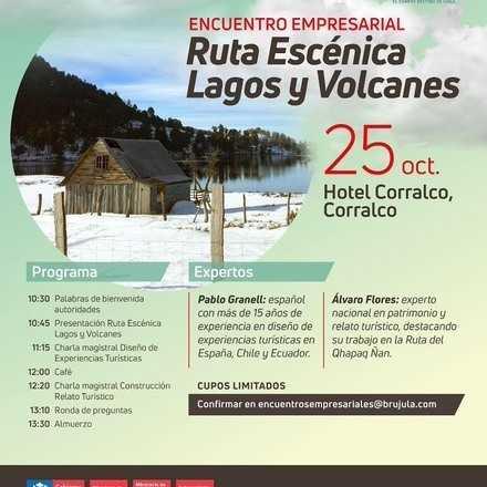 Encuentro Empresarial Ruta Escenica Lagos y Volcanes Corralco