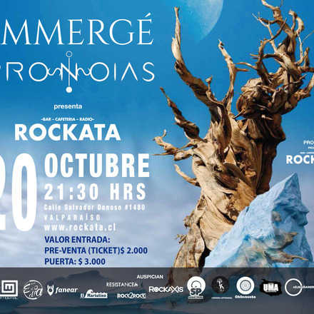 Immergé + Pronoias en Bar Rockata