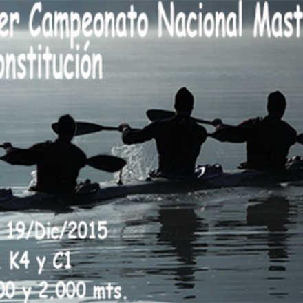 Campeonato Master de Canotaje 2015