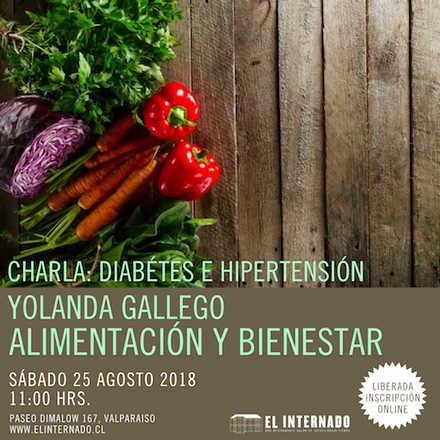 Yolanda Gallego - Charla Alimentación y bienestar (Diabétes e hipertensión)