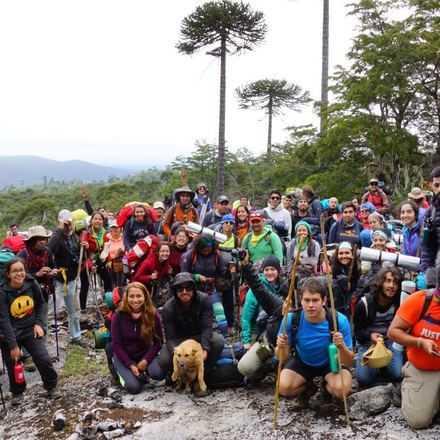 Trekking Desafío Nahuelbuta 2017--Febrero--