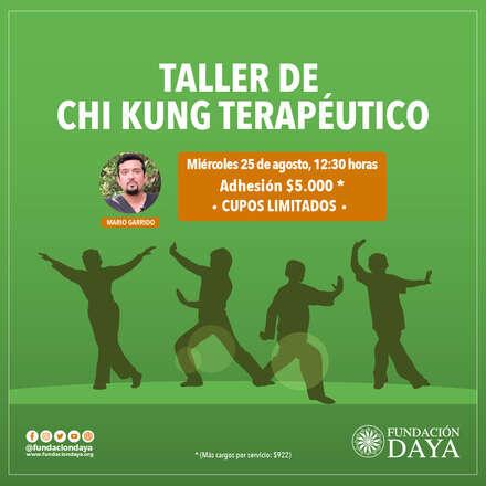 Taller de Chi Kung Terapéutico 25 agosto 2021
