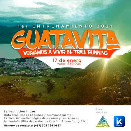 PRIMER ENTRENAMIENTO AIRE LIBRE Y AVENTURA 2021 - GUATAVITA