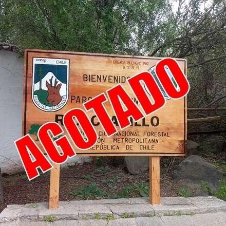 Reservas para el ingreso al Parque Nacional Río Clarillo Miércoles 27 Ene