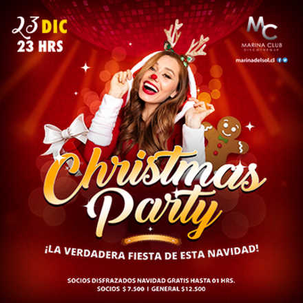 Christmas Party Disfrazados Gratis