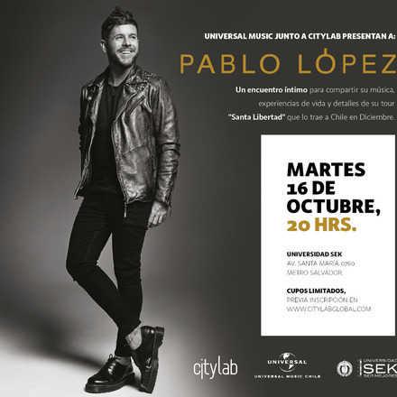 Encuentro íntimo con Pablo López