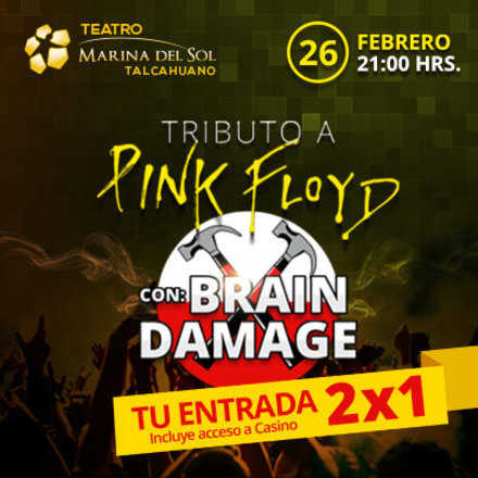 Tributo a Pink Floyd con Brain Damage