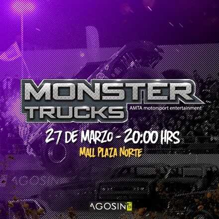 Monster Truck 27 de Marzo / 20hrs