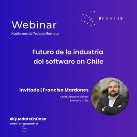 Webinar: El futuro de la industria de software en Chile