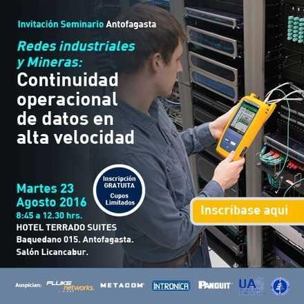 """""""Redes Industriales y Mineras: Continuidad Operacional de Datos en Alta Velocidad"""""""