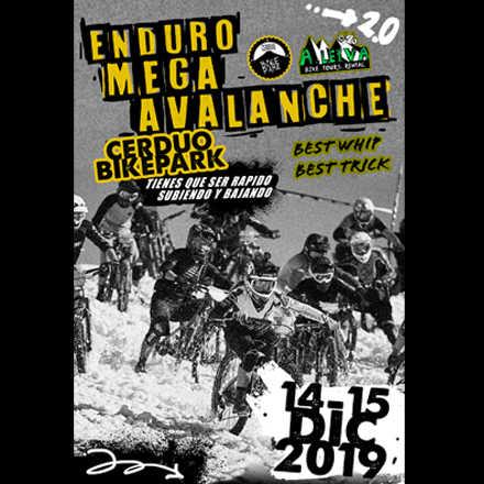 enduro mega-avalanche diciembre 2019