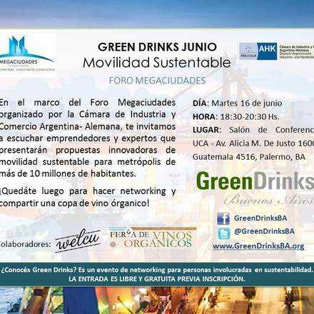 Green Drinks / Movilidad Sustentable