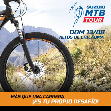 Suzuki Mountain Bike Tour 3ª Fecha 2017