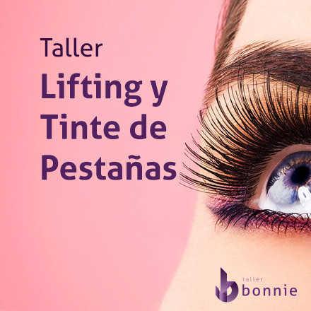 Taller de Lifting y Tinte de Pestañas (Viernes 22 de Noviembre 2019)