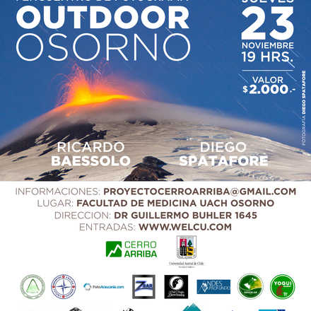 Primer Encuentro de Fotografía Outdoor Osorno
