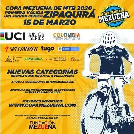 Primera Válida Copa Familiar Mezuena 2020 (UCI WORLD JUNIOR SERIES)