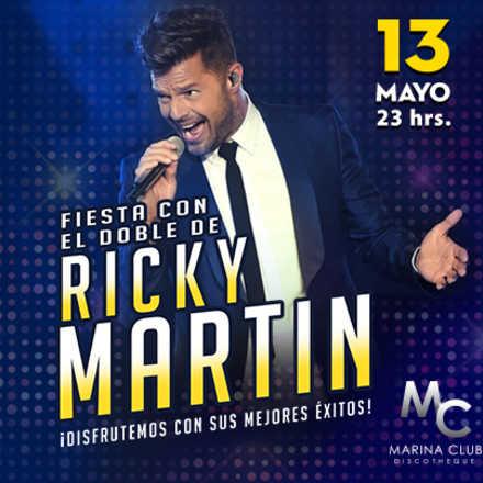 Fiesta Día de la Madre con Doble de Ricky Martin