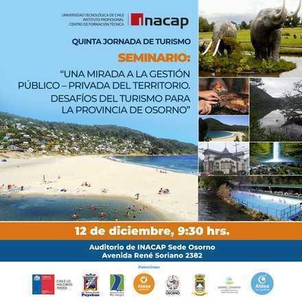 5ta Jornada de Turismo INACAP Osorno