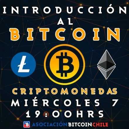 Introducción al Bitcoin y las Criptomonedas - 7 de Agosto