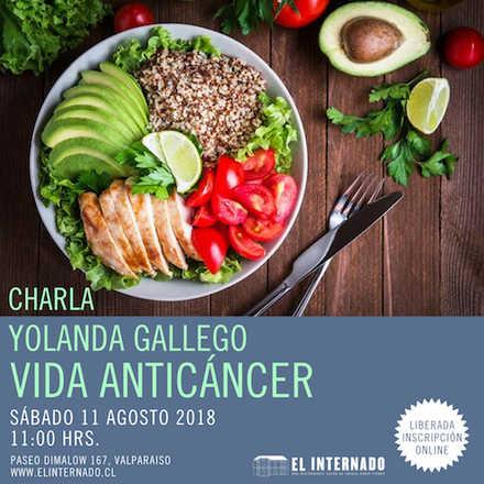 Yolanda Gallego - Charla Vida Anticáncer