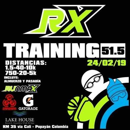 RX TRAINING 51.5 LAKE HOUSE RESORT (Incluye almuerzo y pasadía completa)