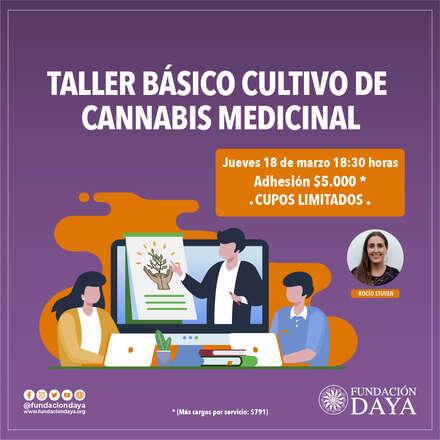 Taller Básico de Cultivo de Cannabis Medicinal 18 marzo 2021