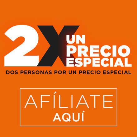 AFILIACIÓN PLAN AÑO 2 PERSONAS X UN PRECIO ESPECIAL