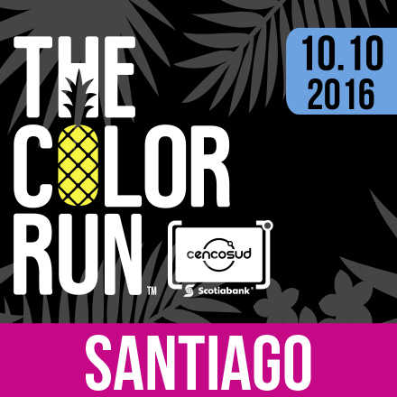 The Color Run Santiago 2016