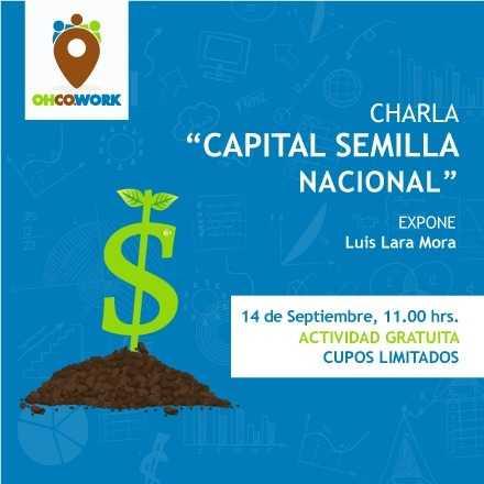 Charla Capital Semilla Nacional