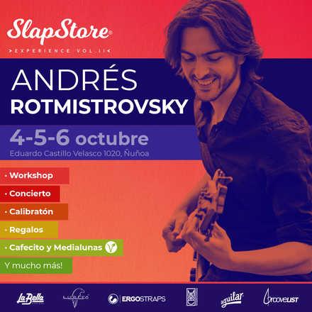 SlapStore Experience Vol. II Andrés Rotmistrovsky