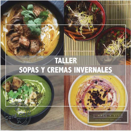 Sopas y Cremas Invernales con Nico Decarli - 6 Junio