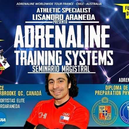 Adrenaline Worldwide Tour Francia Seminario Magistral: Lisandro Araneda