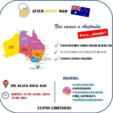 Nos vamos a Australia.. .¿pero a dónde?.
