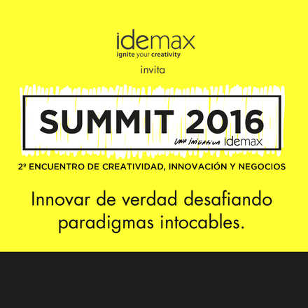2º SUMMIT Creatividad Innovación & Negocios