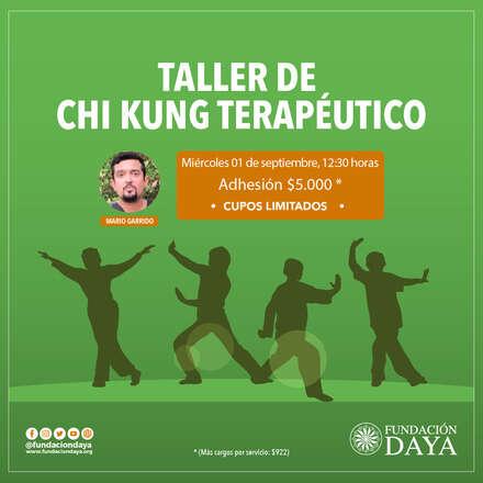 Taller de Chi Kung Terapéutico 1 septiembre 2021